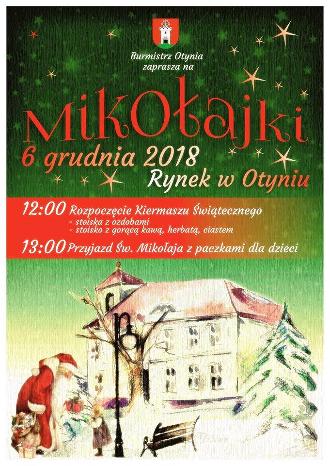 Ilustracja do informacji: Mikołajki